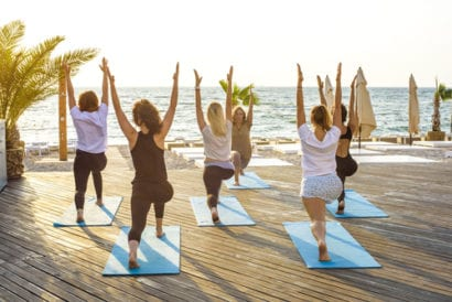 Free Yoga Class on your affordable honeymoon