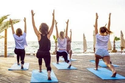 affordable honeymoon beach yoga