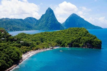 Honeymoon resort in St. Lucia