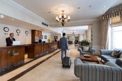London Hotel Lobby