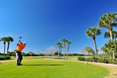 Golfer in Florida