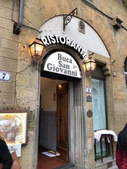 Italy Buca San Giovanni