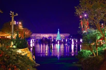 Disney Christmas view
