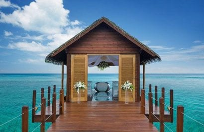 Sandals - over the water chapel