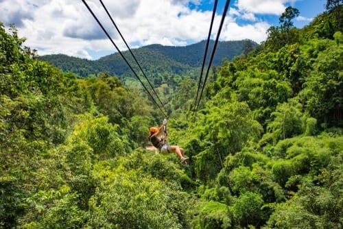 Riviera Maya zipline