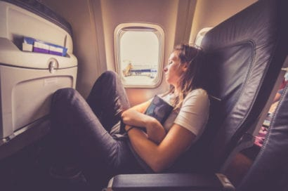 solo travel jet lag
