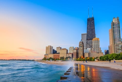 City of Chicago lakefront