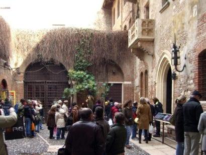 Italy Juliet's Balcony