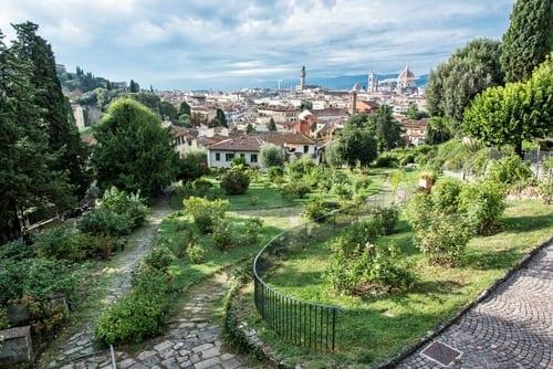 Italy Rose Garden Florence