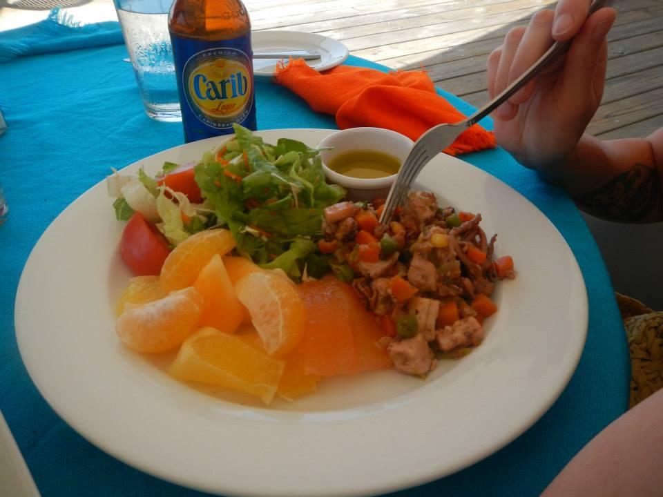 Sandals Grenada food