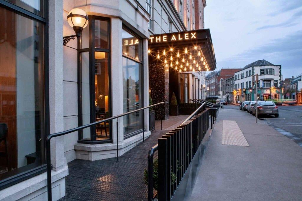 Ireland the alex hotel dublin