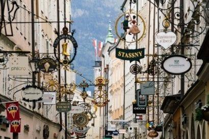 Salzburg 3 - old town edit