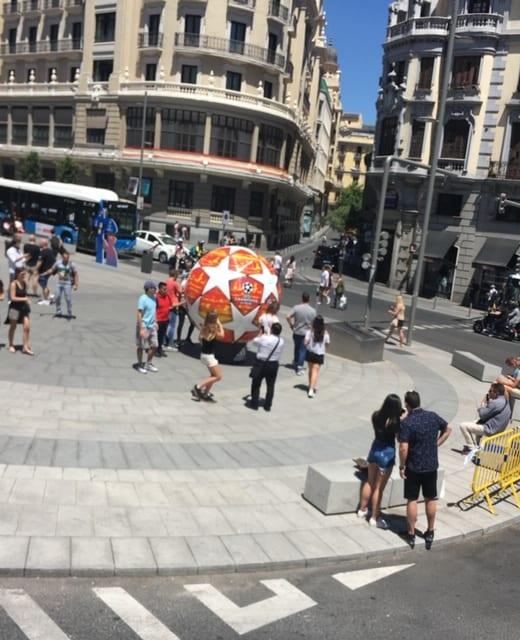Madrid soccer 2