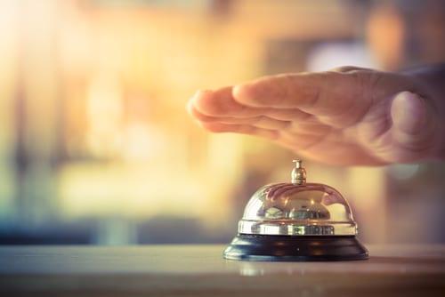 passport ringing bell