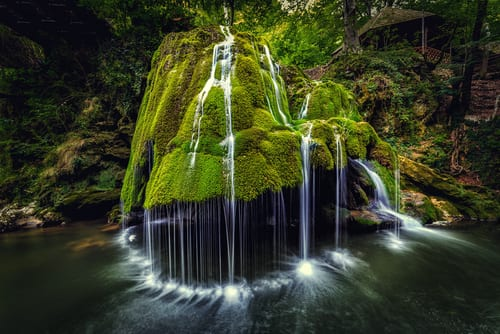 Bigar Cascade Falls, Romania waterfalls