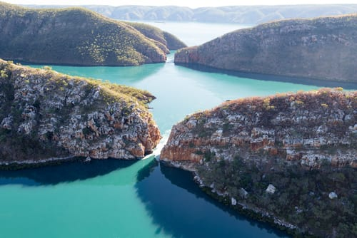 Horizontal Falls, Australia waterfalls