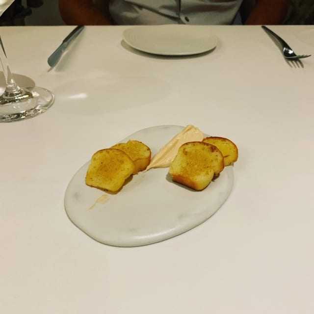 Mini Toasts with Salmon Mousse