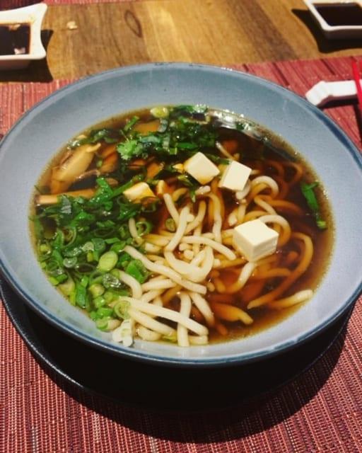 Tofu Ramen Soup