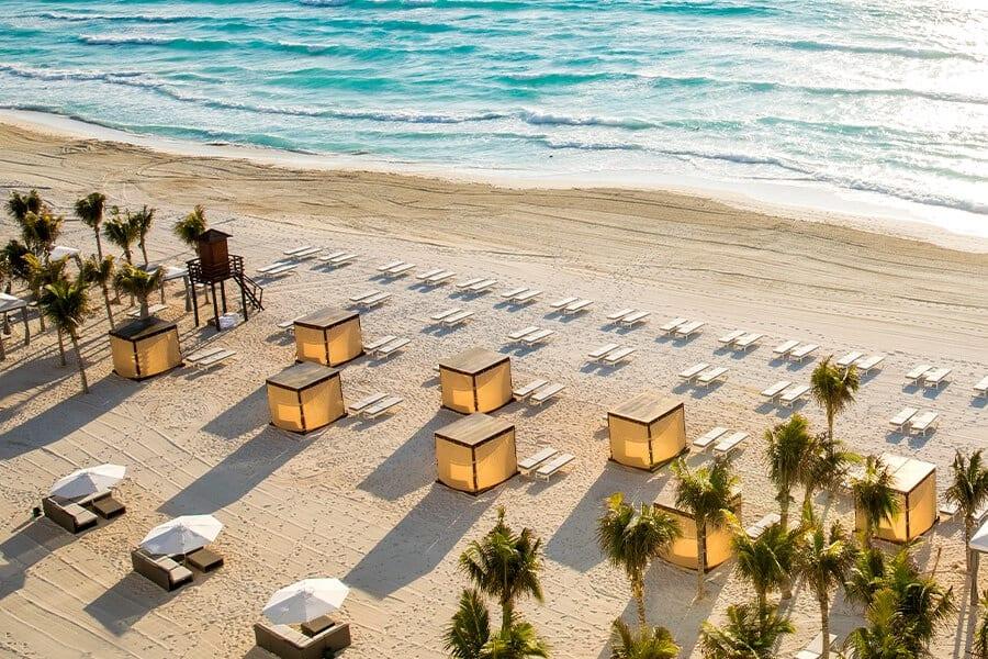 honeymoon le blanc beach