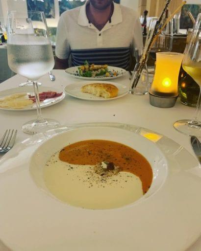 honeymoon le blanc food