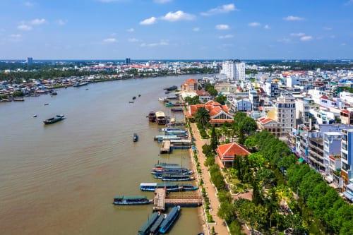 vietnam Ninh Kieu Wharf