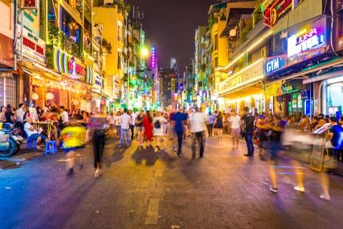 vietnam bui vien street