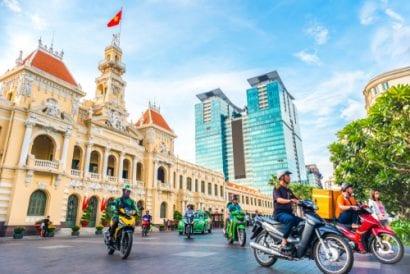 vietnam ho chai ming city day time
