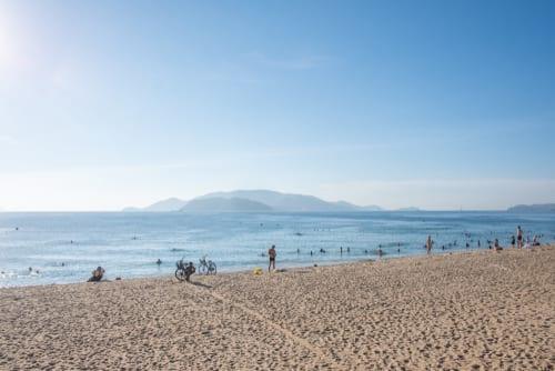 vietnam tran phu beach