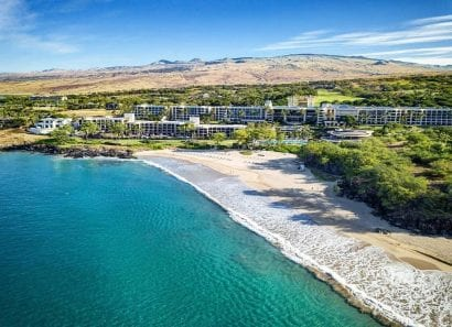 Westin Hapuna Beach Resort Arial View 2