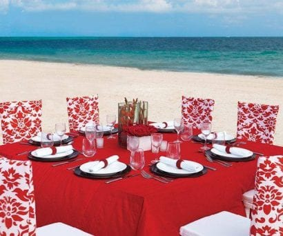 Romantic Red Package Palace Resorts Destination Weddings
