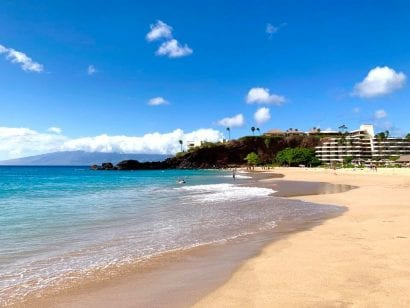 Sheraton Maui Resort & Spa beach