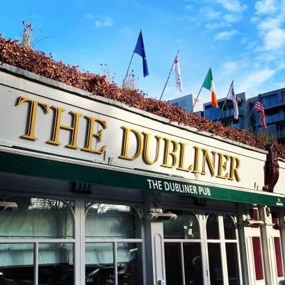 the dubliner pub ballsbridge hotel