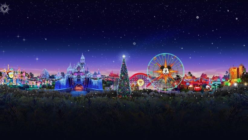 Disneyland Christmas 1