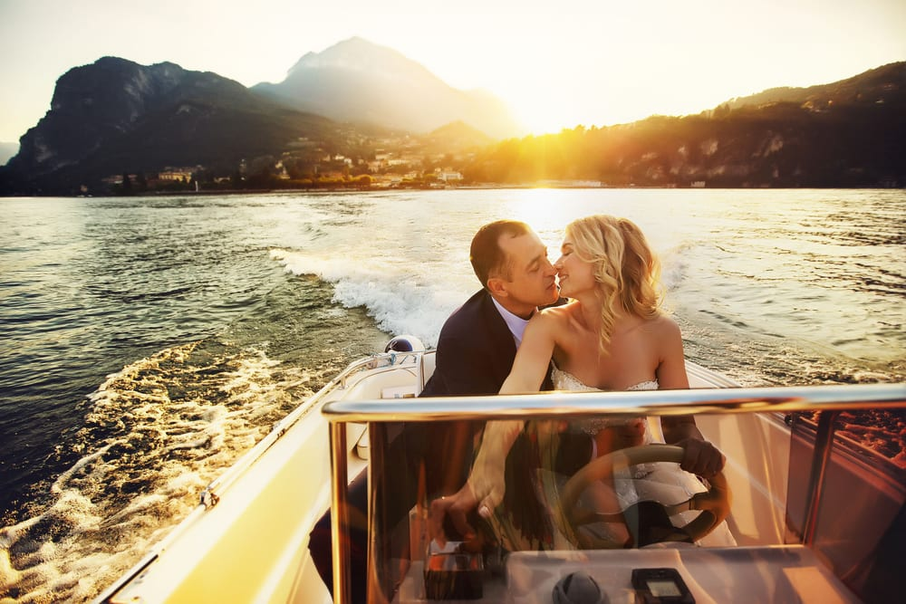 lake como honeymoon