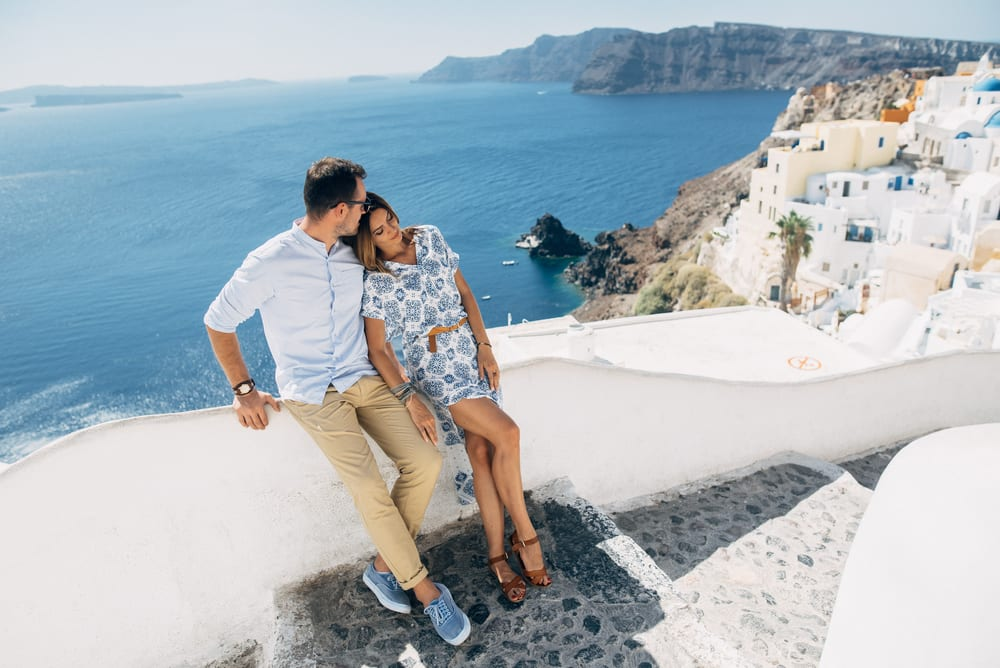 santorini honeymoon