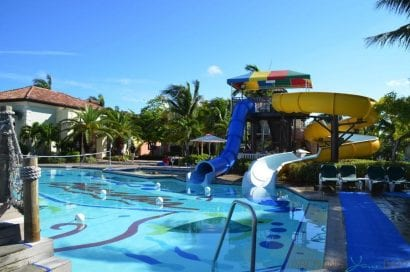 water parks Beaches-Resort-Turks-and-Caicos-water-slides