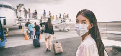 future travel voucher mask on plan