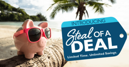 All-Time Low Prices with Steal of a Deal in Las Vegas